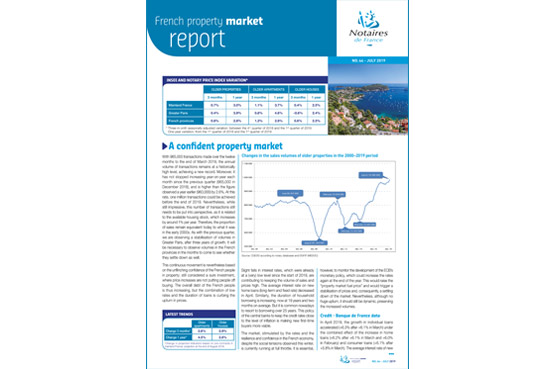 French property market report / N°44